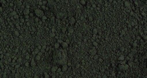 Spinellschwarz. Quelle: M.Titelius, Kremer Pigmente GmbH & Co.KG