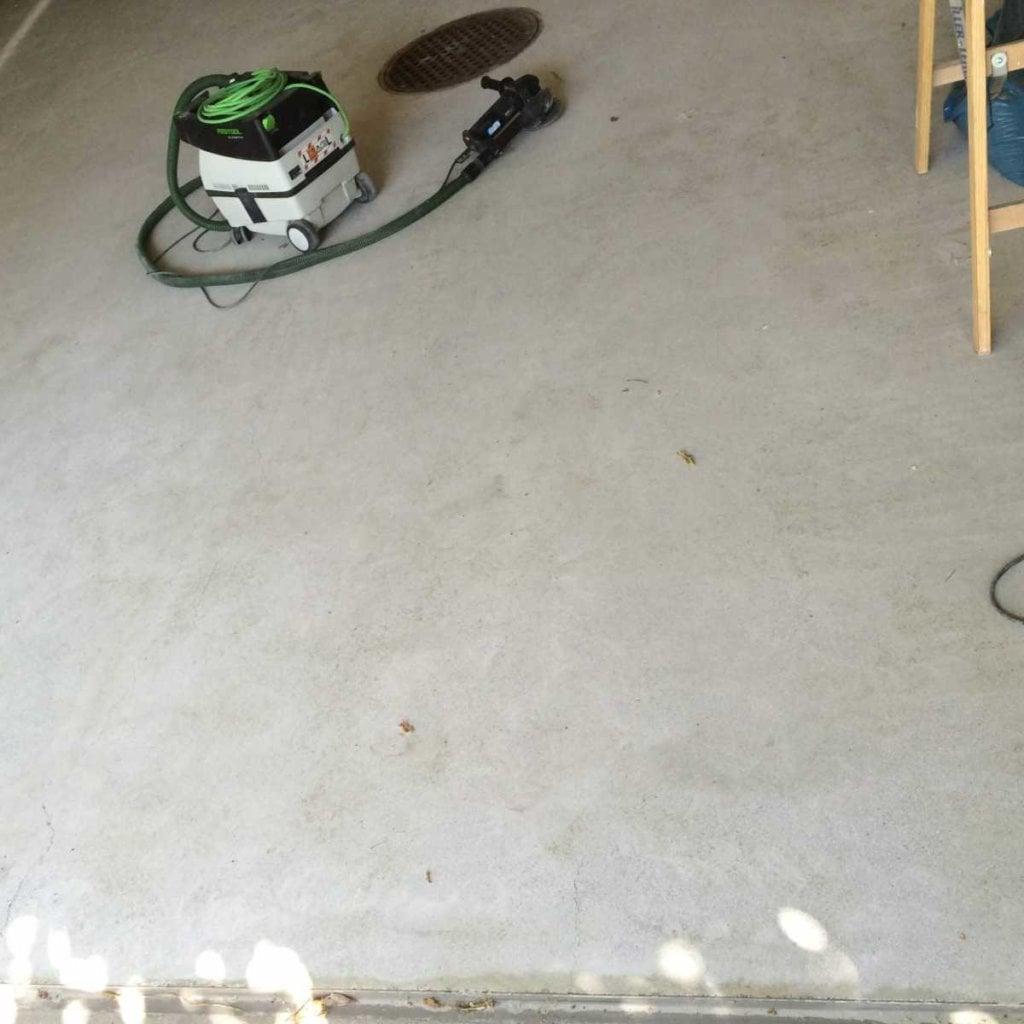 Garage-Boden