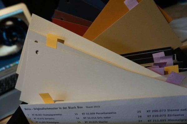 kt.COLOR Farb-Designer Werkzeuge: Blackbox und andere