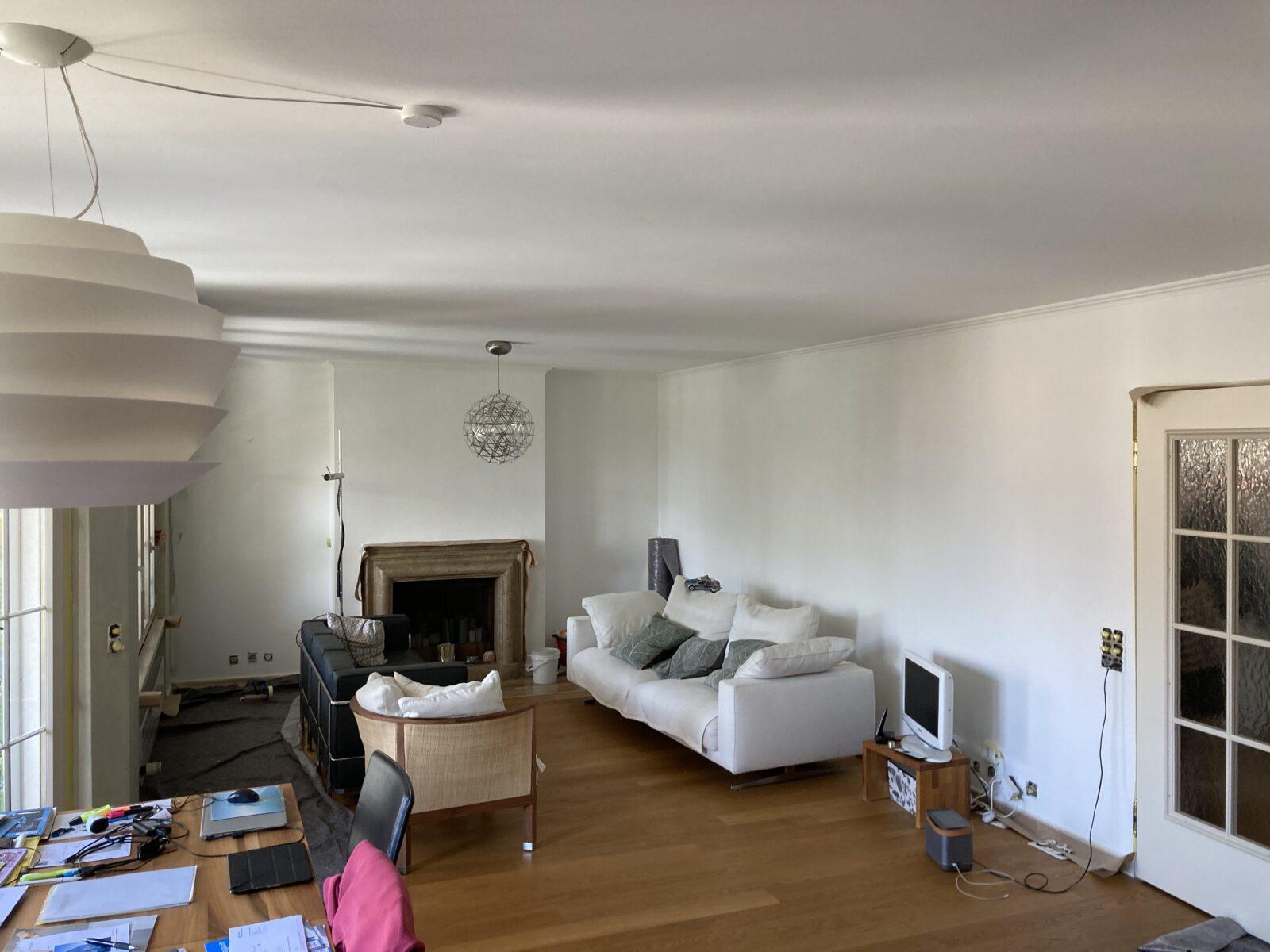 Wohnzimmer—vorher
